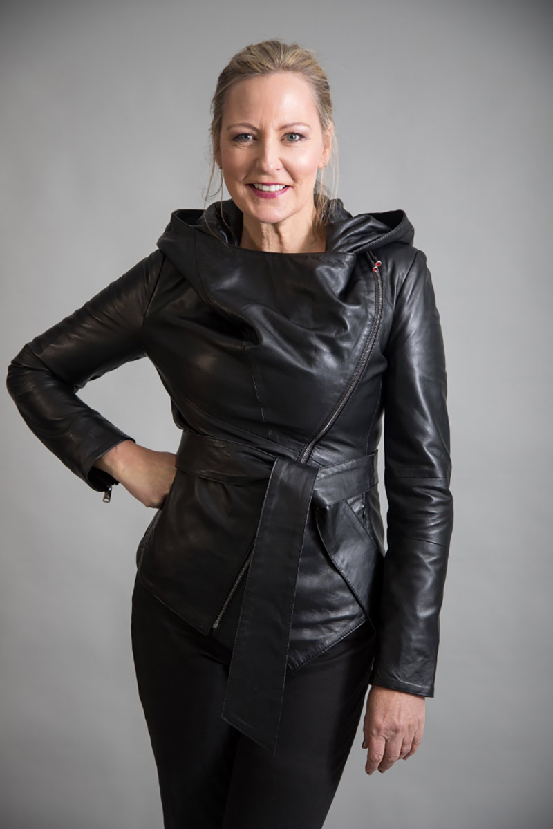 Black Leather Jacket by From My Mother's Garden