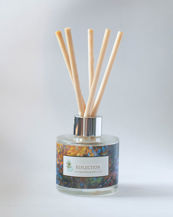 Peach Blossom & Vanilla Room Diffuser - Reflections Room Diffuser by From My Mother's Garden